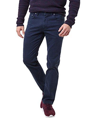 Pioneer Herren Rando MEGAFLEX Hose, Blau (Night Blue 599), 46 (Herstellergröße: 3232) 5-pocket Cord-jeans
