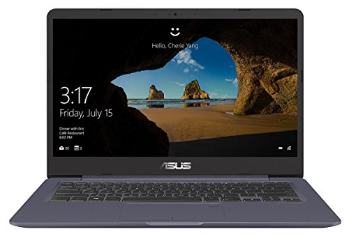 Asus VivoBook S14 S406UA-BV023T 35,56 cm (14 Zoll HD matt) Notebook (Intel Core i5-8250U, 8GB RAM, 256GB SSD, Intel HD Graphics, Win 10) grau