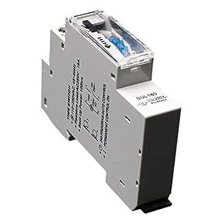 Cikuso Sul180A 15 Minutos Temporizador Mecánico 24 Horas Programables Din Interruptor Temporizador De Riel Interruptor De Tiempo Medición Análisis Instrumentos Nuevo