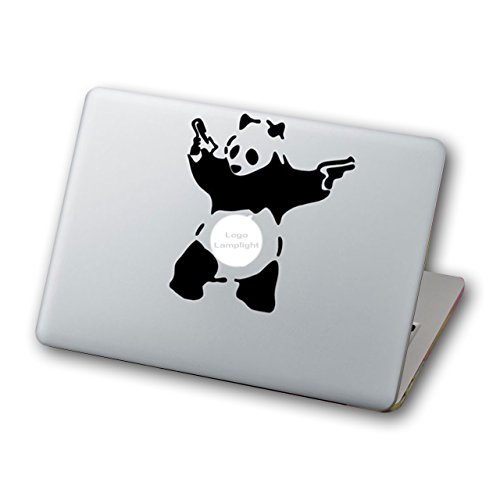 Mcbazel Laptop Vinyl Aufkleber Aufkleber Abnehmbarer Muster Mode MacBook Aufkleber, Anti-Scratch Decal Vinyl Aufkleber Skin Cover f¨¹r MacBook Air/Pro / Retina Laptop 13