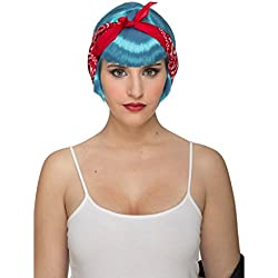 My Other Me Me-204637 Peluca pin up Talla única Viving Costumes 204637