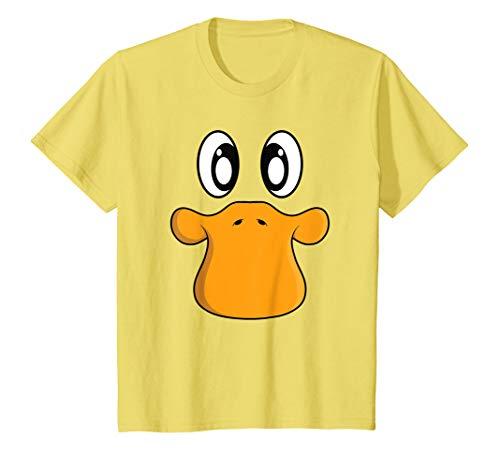 Gesicht T-Shirt als Einfaches Halloween Kostüm ()