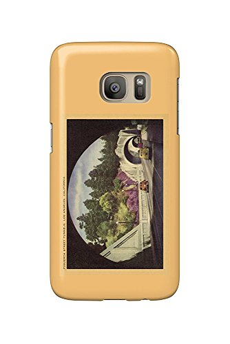 Figueroa Street Tunnels - Los Angeles, California USA c. 1952 (Galaxy S7 Cell Phone Case, Slim Barely There) -