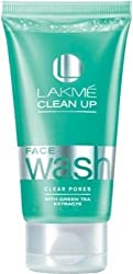 Lakme Clean-up Clear Pores Face Wash(100 g)Make Soft Clean Glowing Face