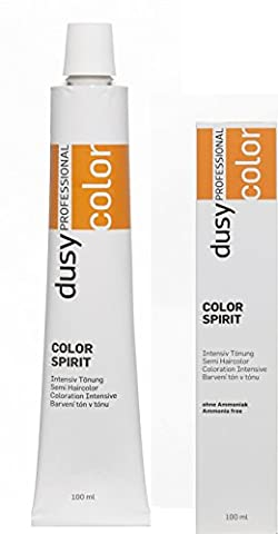 Dusy Professional Color Spirit Intensiv Tönung 1:2 Mischung 6.77 dunkelblond intensivblond 100ml