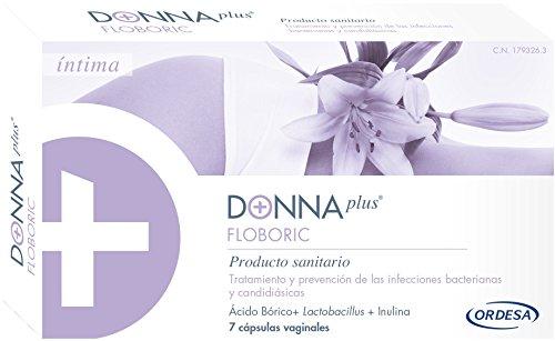 Donna Plus + floboric vaginalen CAPSULAS 7Caps vaginalen