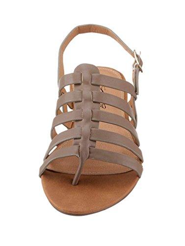 Große Größe: Damen, Sandale, CITY WALK Taupe