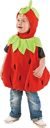 Mottoland Baby und Kleinkinder Kostüm süße Erdbeere zu Karneval Fasching
