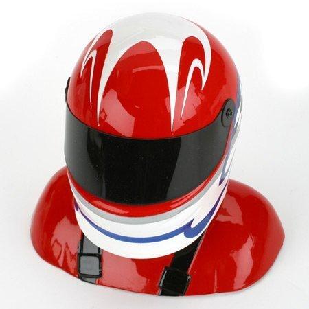 Hangar 9 30-33% Painted Pilot Helmet Red/White/Blue by Hangar 9