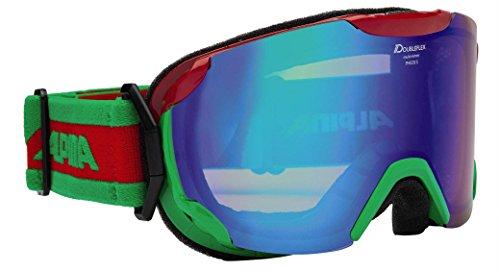 Alpina PHEOS S Doubleflex Multimirror rot grün S2