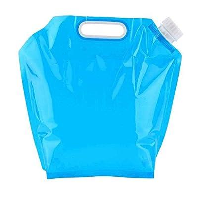 Pegcdu 5L im Freien zusammenklappbaren Wassersack faltender Auto-Wasser-Behälter-Beutel Geeignet für Camping Wandern Picknick-Grill