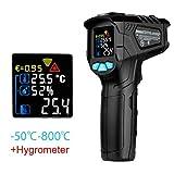 Thermomètres, Pistolet De Température Infrarouge Sans Contact Pour Laser Numérique...