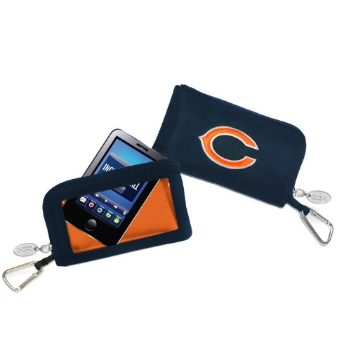 Chicago Bears–Logo Geldbörse Smartphone–Dunkelblau