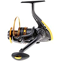 RLJJCS1163 Girando Carrete de la Pesca con Leftfield/Derecha Intercambiable 10 Carrete de Pesca BB Carrete de Pesca (Color : JS3000)