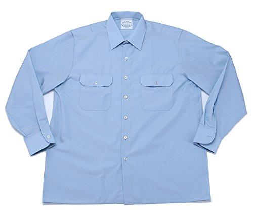 Diensthemd 1/1 Arm T/C hellblau, Größe:S