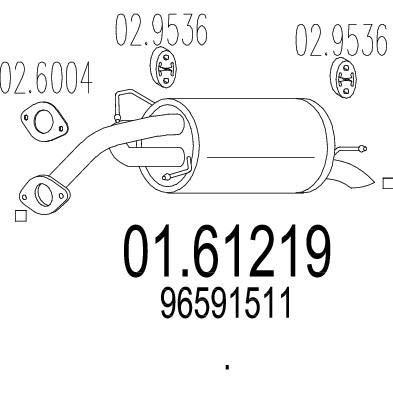 MTS 01.61219 composante