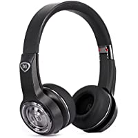 Monster Elements Auricular con Banda de Diadema con inalámbrico Bluetooth Pizarra Negro