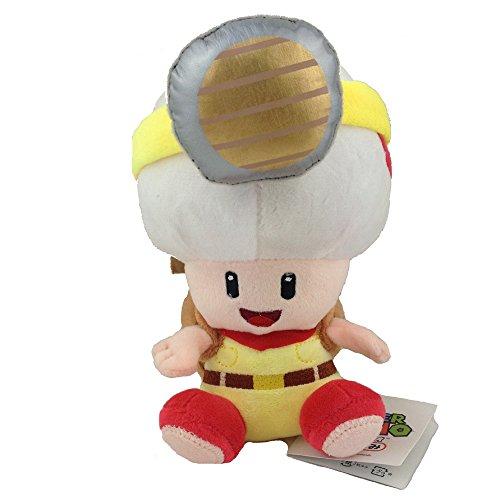 Descripción de Super Mario Bros: Estado: nuevo. Material: felpa, algodón, fibra sintética. Tamaño: Capitán Sapo de 7 pulgadas. El capitán Toad es un personaje que aparece por primera vez en Super Mario Galaxy. Un sapo rojo vestido con una mochila de ...