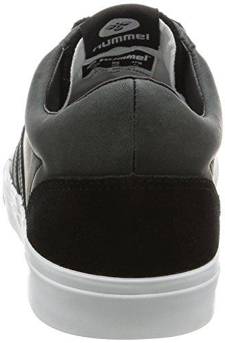 Hummel BASELINE COURT LEATHER Sneaker homme black