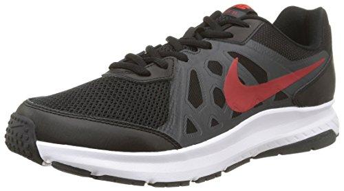 Nike Dart 11, sneaker homme Black/University Red-Antharcite-White