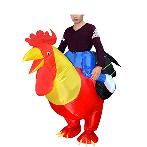 Imagen de inflables disfraz hinchaple traje fantasia inflatable costume suit para fiesta halloween cosplay pollo