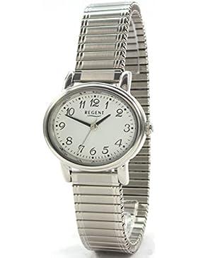 Regent 7798.40.99–Uhr für Frauen, Edelstahl-Armband