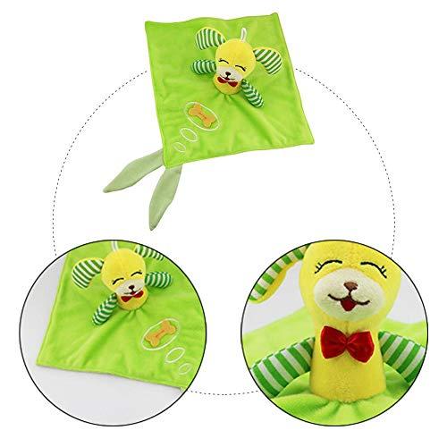 remote.S Baby Apaisez Serviette Animal Apaisez Poupee pour 0-2 Ans Poignee Main Baby