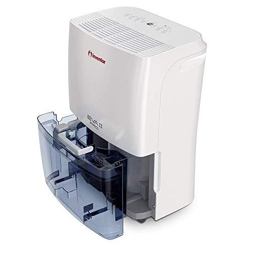 Inventor EVA II Pro Ion 20 litros/día, Deshumidificador con Ionizador, Secador De Ropa y Deshumidificación Inteligente para Máximo Ahorro de Energía - 2 Años de Garantía