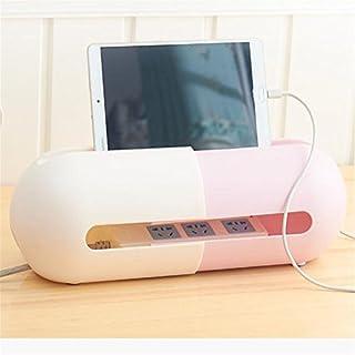 SJHO Kabel Multifunktions-Management-Box Line Manager - Stretch Line Manager - 2 Pack,Pink