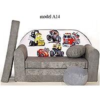 Kindersofa, Kindermöbel, Kinderzimmer, Sitzsack, Mini Sitzsack,Konvertiert in ein Mini-Sofa-Bett preisvergleich bei kinderzimmerdekopreise.eu