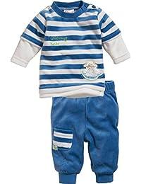 Schnizler Nicki Blockstreifen, 2-Teilig Langarmshirt Und Hose, Oeko-Tex Standard 100, Chándal para Bebés