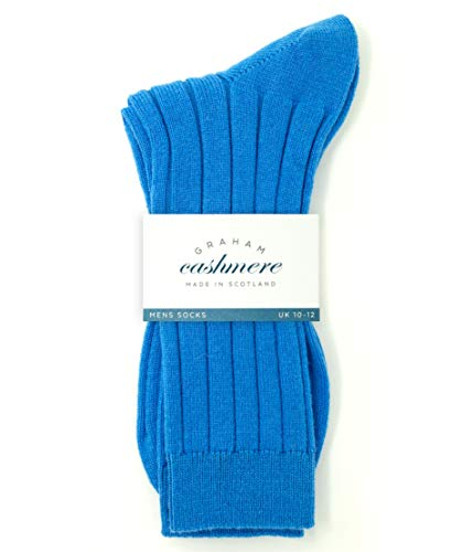 Cashmere Herren-socken (Graham Cashmere Herren Socken blau denim-blau, blau)