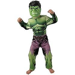 Rubies Marvel - I-888911s - Disfraces clásicos para niños - Hulk Vengadores - Tamaño S