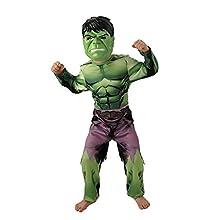 Rubie's Official Marvel Avengers Assemble Hulk, Child Costume - Large