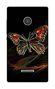 The Racoon Lean The Butterfly hard plastic printed back case / cover for Microsoft Lumia 532