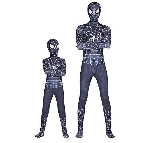 Movie Spider Kostüm R Professionelle Strumpfhose Hochelastische Bühnenkleidung,AdultL (Spider Mann Shirt Kostüm)
