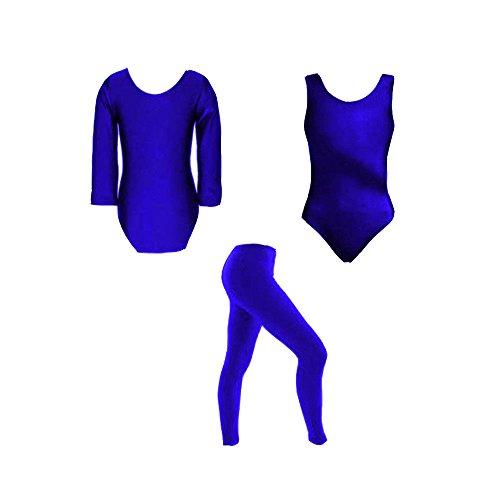 RSVH Mädchen Kinder Ballett Dance Gymnastik glänzend Nylon -