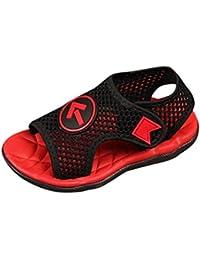 Malloom 1-7 Años Infantil Niños Niñas Chicas Suave Malla Sandalias Playa Mar Zapatillas Casuales Zapatos