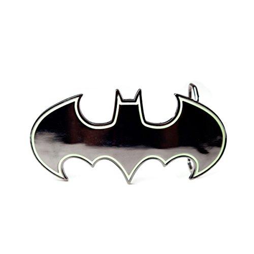 Batman Batman Logo Gürtelschnalle Standard (Batman Gürtel Fashion)