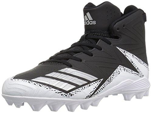 17a987a7a Adidas Performance pour Homme Freak Mid MD - Noir - Black Metallic Silver  White