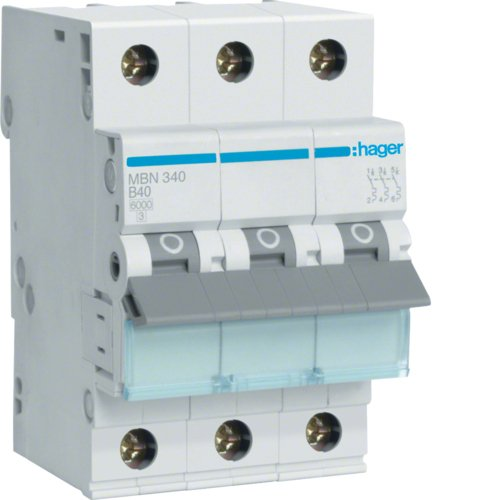 HAGER MBN340 3P INTERRUPTOR ELECTRICO - ACCESORIO CUCHILLO ELECTRICO (50/60 HZ)