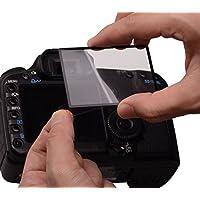 Rollei Profi Displayschutz für Canon 60D (Touchscreen, Schwenkbildschirm, Kratzfest/bruchsicher/stoßfest)