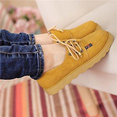 X-Uomini amamber'S scarpe molla reale caduta scarpe formali Novità Oxfords Null Null / per la festa di nozze & Sera nero,sotto 1a,marrone,US6 / EU36 / UK4 / CN36 Yellow,US5 / EU35 / UK3 / CN34