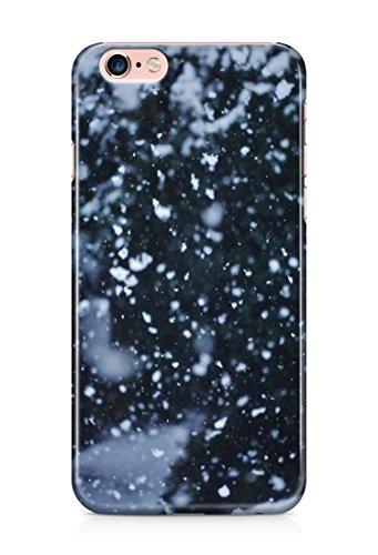 Christmas time holidays snow 3D cover case design for iPhone 7 6