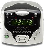 Roberts Radios 3-Band Dual Alarm Stereo Clock Radio with CD Player (CD Cube)