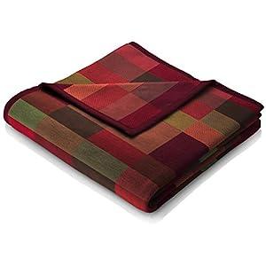 biederlack® flauschig-weiche Kuschel-Decke I Made in Germany I Öko-Tex Standard 100 I nachhaltig produziert I Wohn-Decke