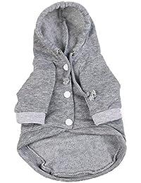 Ropa para Mascotas,Gusspower Abrigo Algodón de Invierno Sudaderas con Capucha Camisetas Mantener Caliente Perro Mascota Ropa