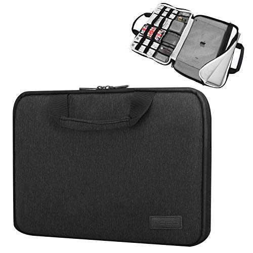b1907c8bd0c MoKo 15-15.6 Inch Laptop Sleeve Case Handle Electronic Accessories  Protective Bag Fit for 15