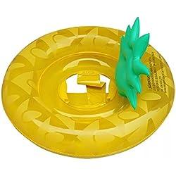 Ecent Asiento inflable piscina Colchonetas piscina bebe Para niños de 8 meses - 4 años