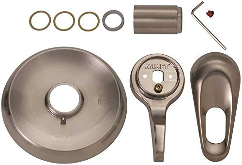 BrassCraft SKD0204 D Mixet MTR-5 HH SN Single Handle Tub and Shower Trim Kit with ADA Compliant Handles, PVD Satin Nickel by BrassCraft Mfg - Handle Tub Trim Kit